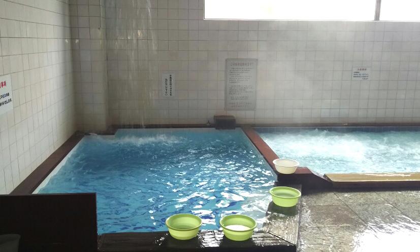 天然水水風呂
